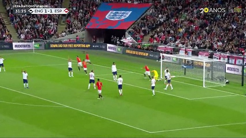 England vs Spain 1-2 All Goals & Highlights 08/09/2018