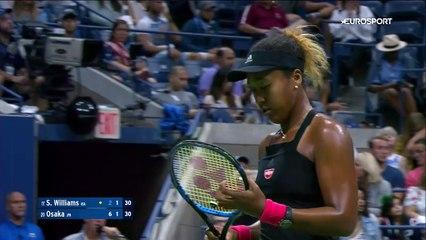 US Open - Osaka bat en finale une Serena furieuse 49c4c32279c96