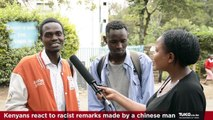 Kenyans React - Chinese Man Calls President Uhuru Kenyatta a Monkey - Breaking News Kenya | Tuko TV