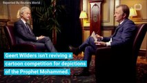 No Laughing Matter: Geert Wilders Pulls Plug On Anti-Islam Cartoon Competition