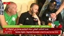 Belmadi : Satisfait de l'attitude de mes joueurs