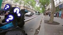 [VIDEO] Paris: le ras-le-bol des vélos face aux scooters sur les pistes cyclables