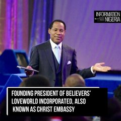 Pastor Chris Oyakhilome Accused Of Hiring People To Fake Miracles In South Africa