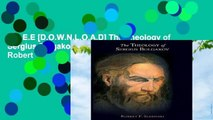 F.R.E.E [D.O.W.N.L.O.A.D] The Theology of Sergius Bulgakov (Scholarly Monographs) by Robert