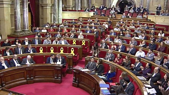Torra ironiza con Arrimadas dándole la bienvenida a Cataluña