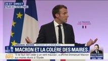 """""""Nous sommes des vrais populistes, nous sommes avec le peuple"""", affirme Emmanuel Macron devant les maires de France"""