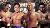 Manabu Nakanishi & Yuji Nagata vs. Toa Henare & Togi Makabe NJPW World Tag League 2018
