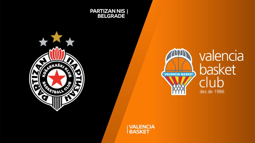 Partizan NIS Belgrade - Valencia Basket Highlights | 7DAYS EuroCup, RS Round 8