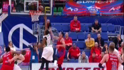 EuroLeague 2018-19 Highlights Regular Season Round 8 video: CSKA 99-97 Zalgiris