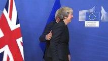 """May feilt mit Juncker weiter am """"Brexit""""-Deal – aber """"die Arbeit geht weiter"""""""