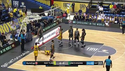 7Days EuroCup Highlights Regular Season, Round 8: Fiat Turin 72-82 UNICS