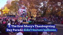 10 Thanksgiving Fun Facts You Never Knew