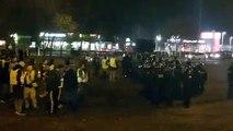 Affrontements entre Gilets jaunes et CRS à  Mably