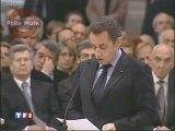 Sarkozy au Vatican prêche pour la laïcité positive