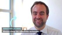 Sébastien Lecornu au Salon des maires et des collectivités locales