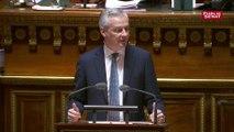 Budget: « les impôts et les taxes, ça suffit » lance Bruno Le Maire
