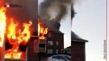 Dallas, madre lancia il figlio dall'ultimo piano durante l'incendio: è salvo   Notizie.it