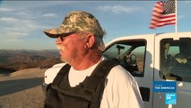 On patrol at the US-Mexico border with American militia groups