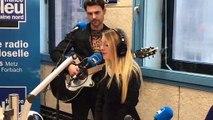 Gloria chante Petit Papa Noël sur France Bleu Lorraine