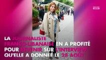 Léa Salamé regrette d'avoir réagi en direct à la démission de Nicolas Hulot, elle s'explique