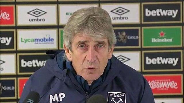Manuel Pellegrini looks ahead to facing former club Manchester City