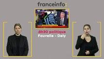 Bruno Le Maire, invité du 8h30 Fauvelle-Dély sur franceinfo,  doublé en LfPC