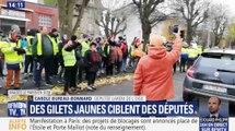 Des gilets jaunes autour des domiciles de députés LREM - ZAPPING ACTU DU 22/11/2018