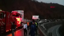 Bursa Kaza Sonrası Bursa-Ankara Karayolu Trafiğe Kapandı
