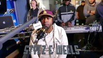 """J Wells & Styliztik Jones """"Stylz & Wells"""" Freestyle @ Shade 45 """"The Wake Up Show"""" with Sway & King Tech, 04-19-2018 Pt.2"""