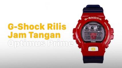 Bikin Ngiler! Casio Rilis G-Shock Optimus Prime 1f89455cea