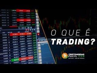 O que é trading?