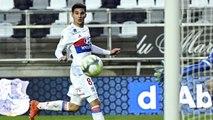 OL : Bruno Genesio félicite Houssem Aouar et Ferland Mendy