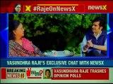 Rajasthan CM Vasundhara Raje Exclusive Interview | Rajasthan Assembly Election 2018
