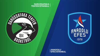 EuroLeague 2018-19 Highlights Regular Season Round 9 video: Darussafaka 88-93 Efes