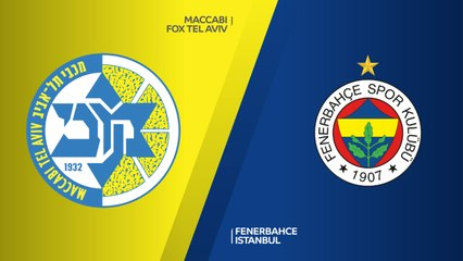 EuroLeague 2018-19 Highlights Regular Season Round 9 video: Maccabi 70-74 Fenerbahce