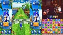 Sega Heroes Vs Sonic Dash 2 Sonic Boom Vs Sonic Dash