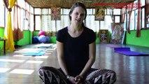 Gretchen (USA) expressing about Yoga Teacher Training in Rishikesh