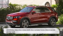 Der neue Mercedes-Benz GLE 450 4MATIC Exterieur Design in Hyacinth Red