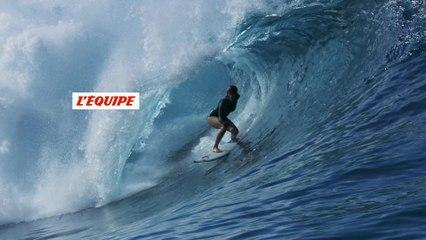Bethany Hamilton charge à Teahupo'o - Adrénaline - Surf
