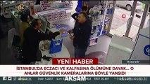 İstanbul'da eczacı ve müşteri kavgası kamerada