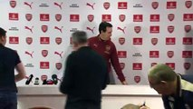 Emery looks ahead to facing high-flying Bournemouth in the EPL