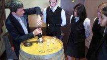 Comment des élèves ardéchois de CAP ont fait leur propre vin