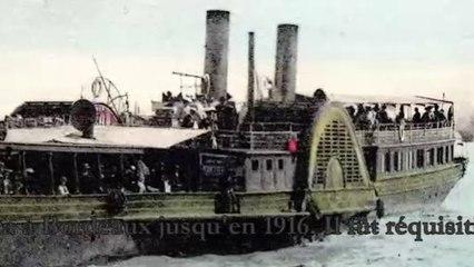 Quand les bateaux à aubes sillonnaient la Garonne.