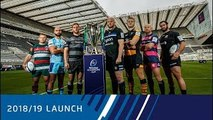 201819 Heineken Champions Cup Launch Gallagher Premiership Rugby Clubs