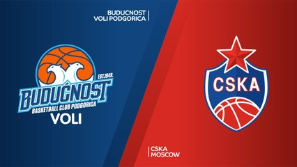 EuroLeague 2018-19 Highlights Regular Season Round 9 video: Buducnost 93-92 CSKA