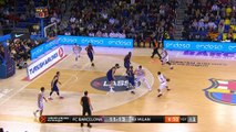FC Barcelona Lassa - AX Armani Exchange Olimpia Milan Highlights | Turkish Airlines EuroLeague RS Round 9