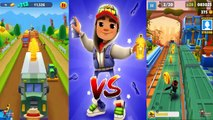 Talking Tom Gold Run Build Ginger's Farm Vs Subway Surfers Marrakesh - Frank Tiger Outfit