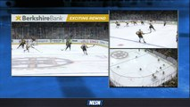 David Krejci, Jake DeBrusk Ignite Bruins' Offense In Second Period Vs. Penguins