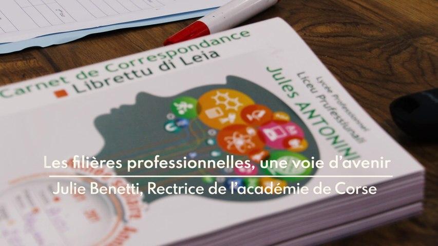 La voie professionnelle - Lycée Jules Antonini