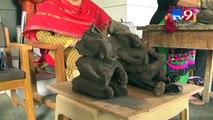 "School teaching students to make ""Eco Friendly Ganesh"", Junagadh- Tv9 Gujarati"